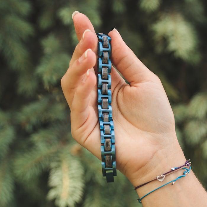 Fortissimo (Grauer Marmor/Blau)