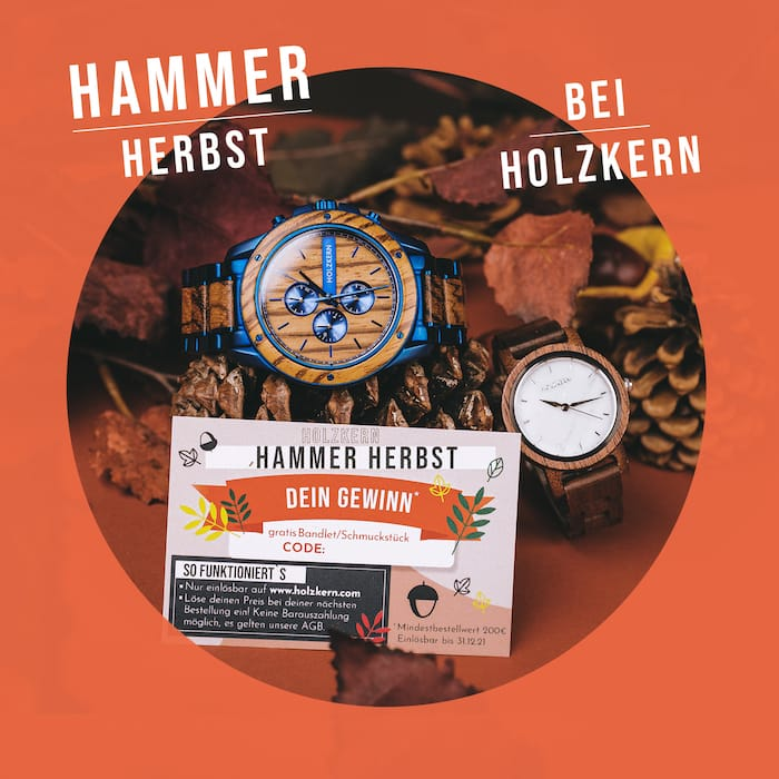 Holzkern Hammer Herbst
