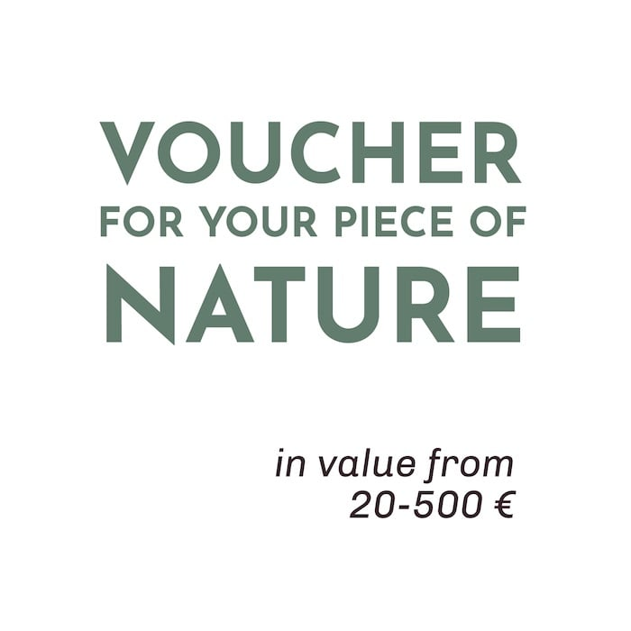 Giftcards from 20 to 500 €