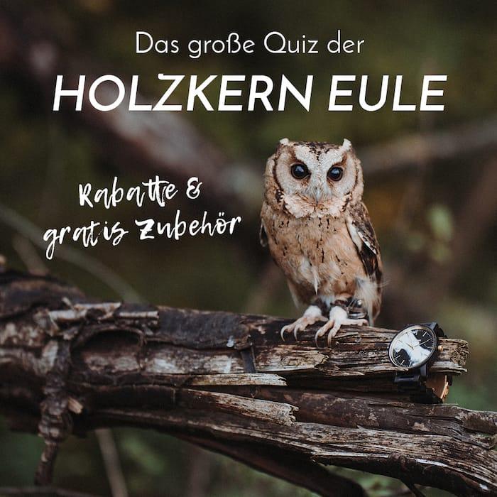 Das Große Quiz der Holzkern-Eule