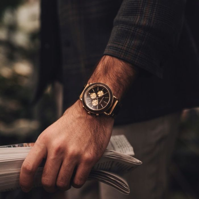 Elegante Uhren Slider DE 1