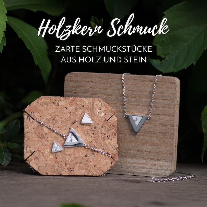 Holzkern Schmuck