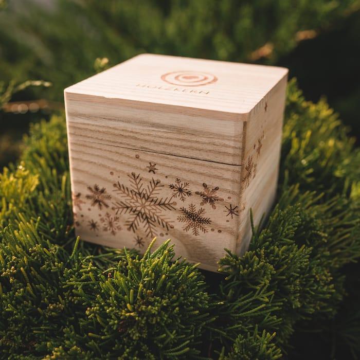 Caja individual invierno misterioso