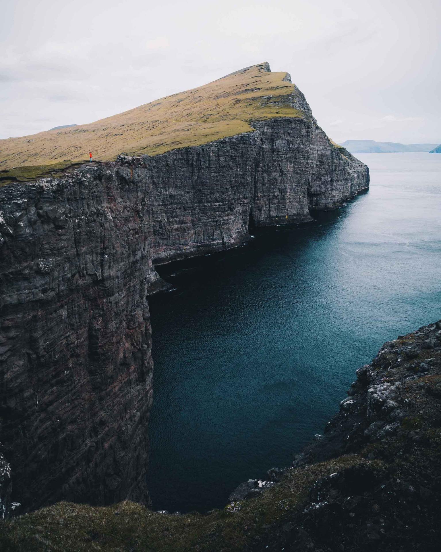 Färöer Inseln Felsen