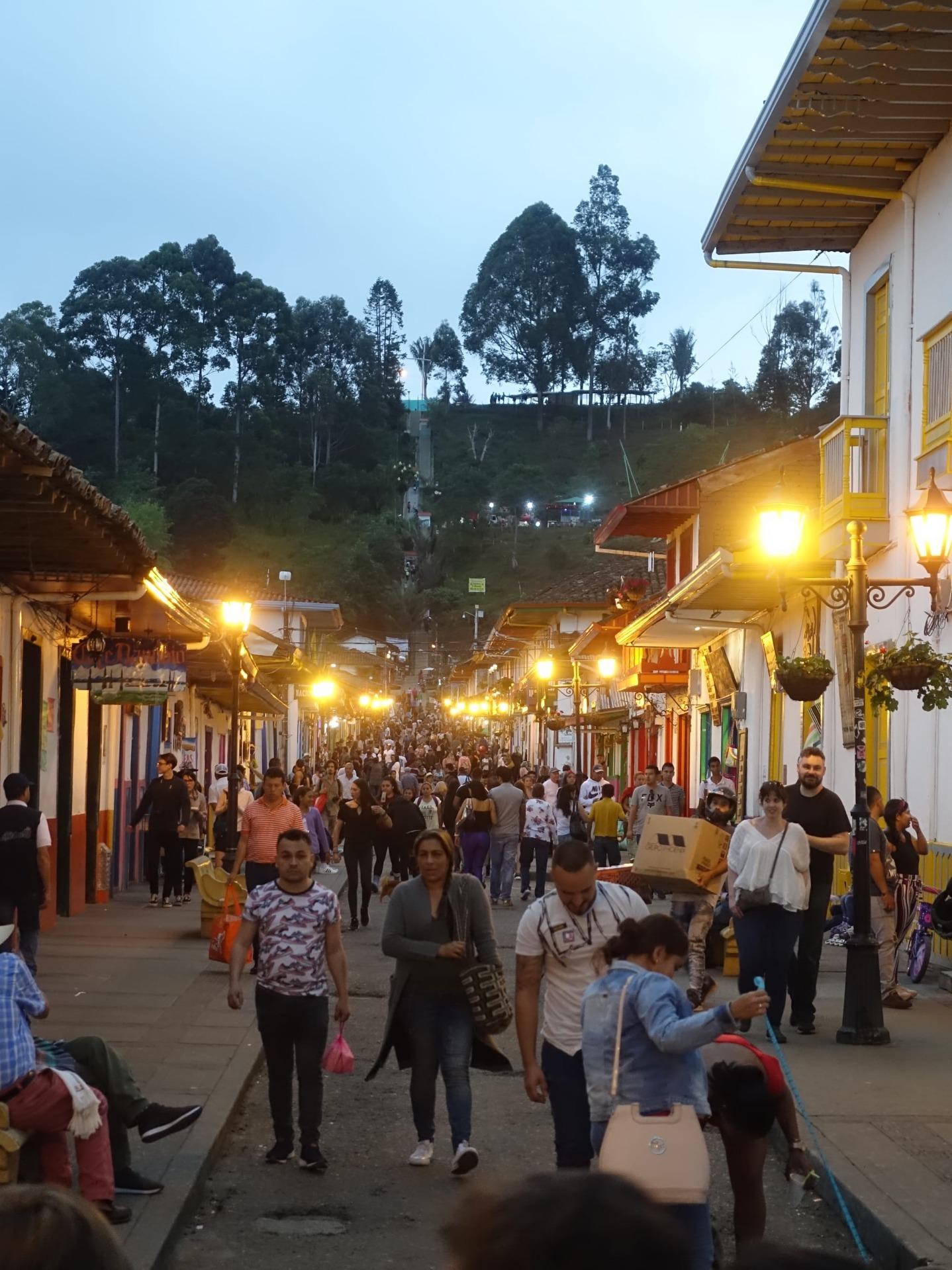Vita di città in Colombia