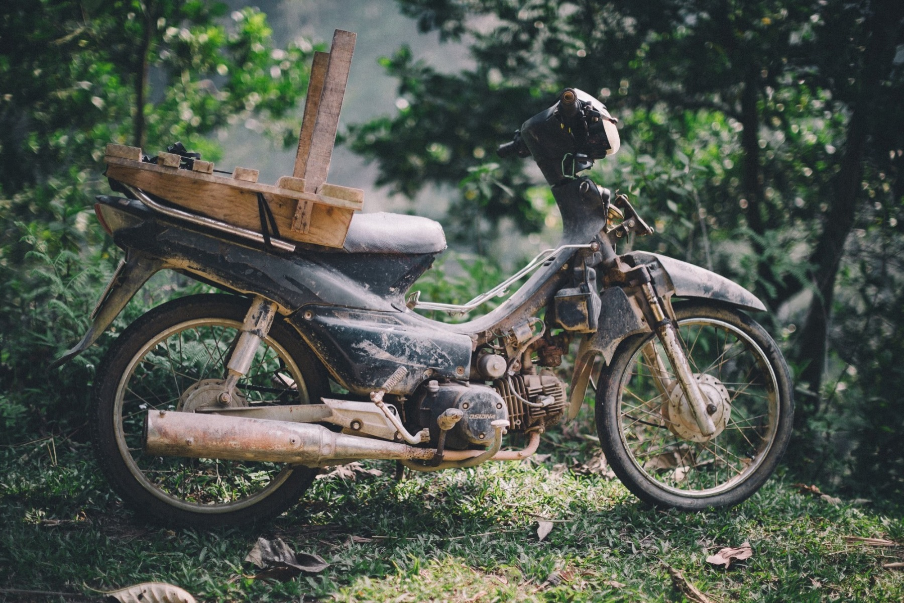 antikes Motorrad