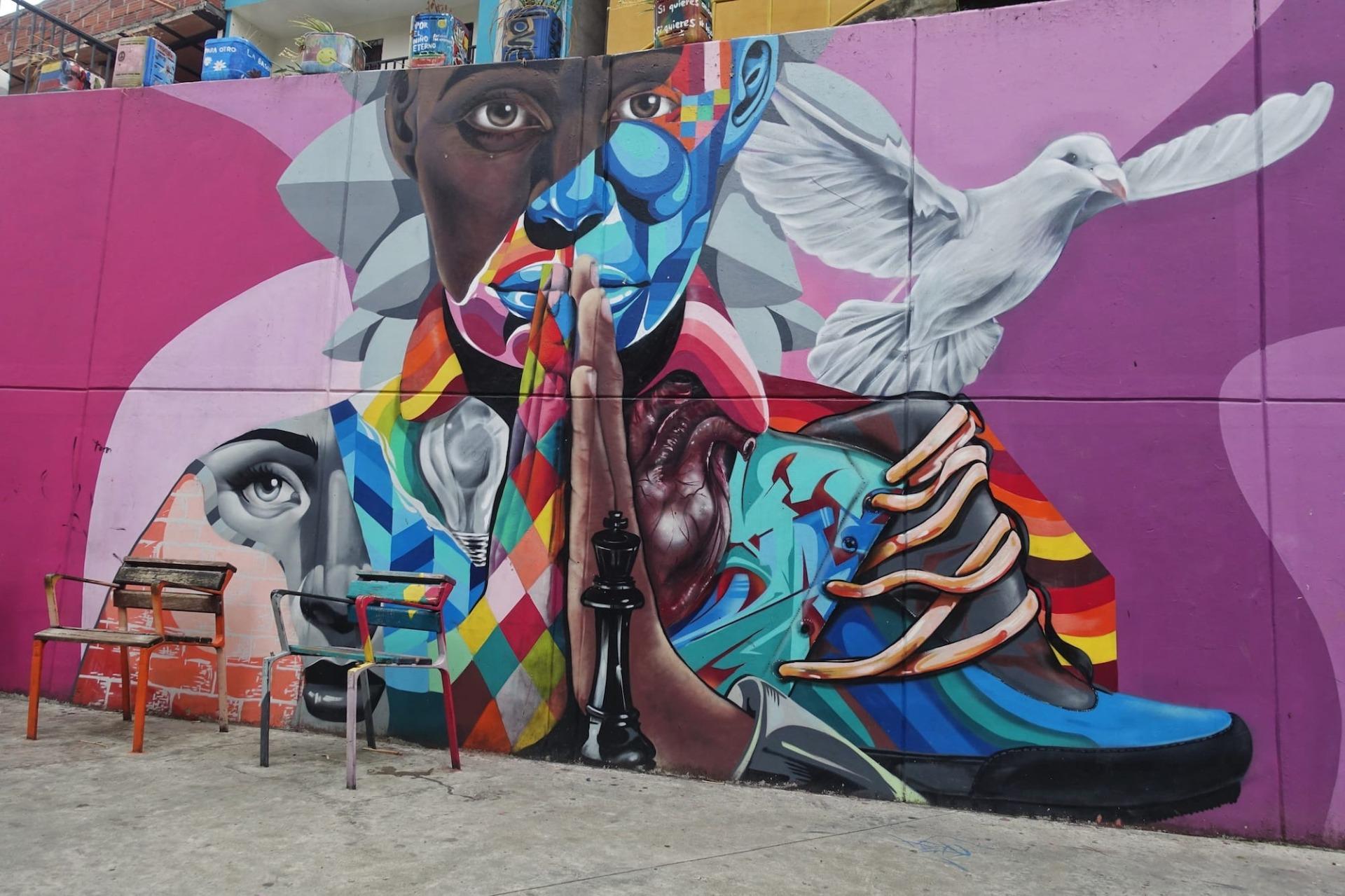 Murale sulla pace