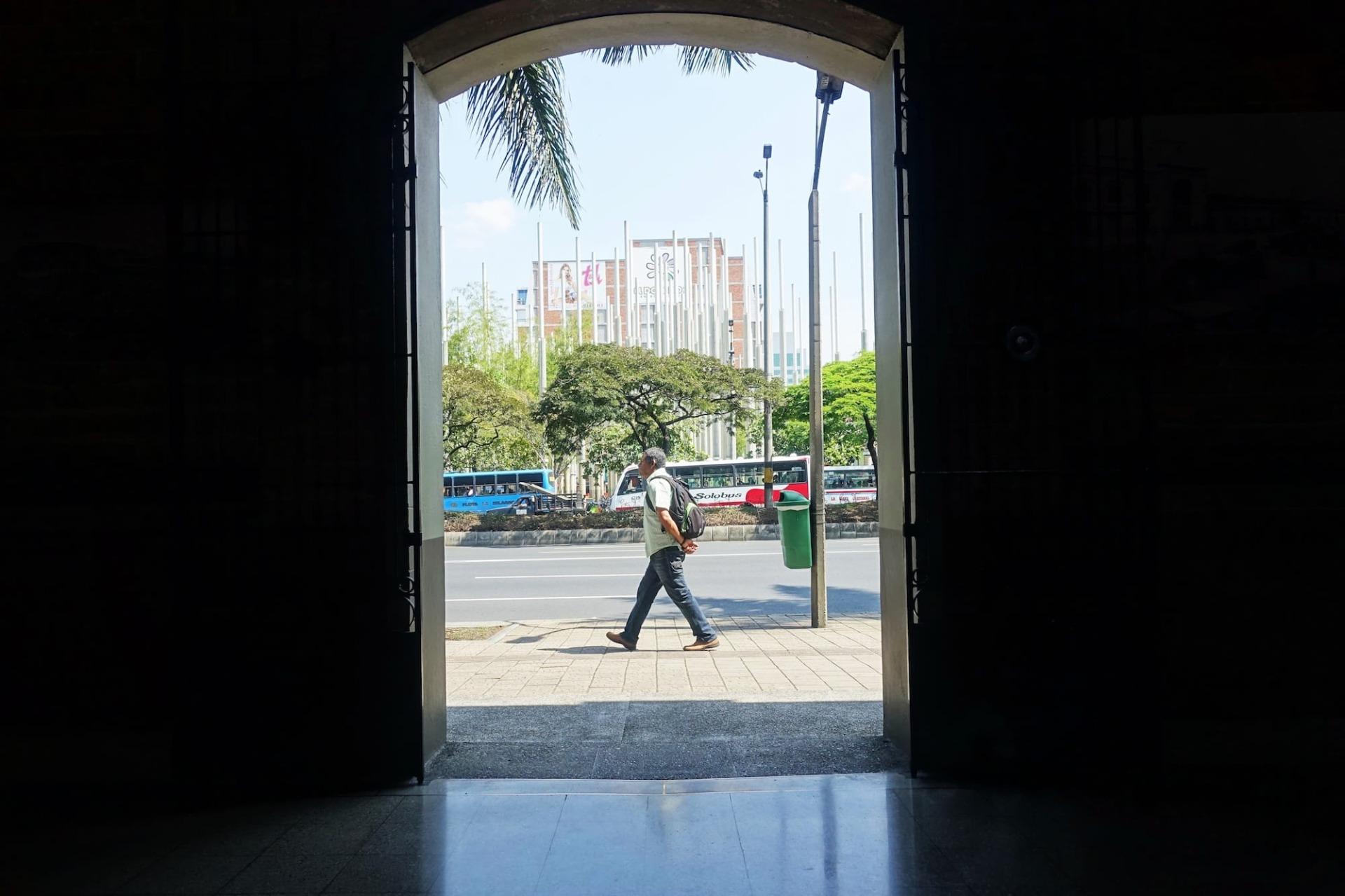 Pedoni a Medellín