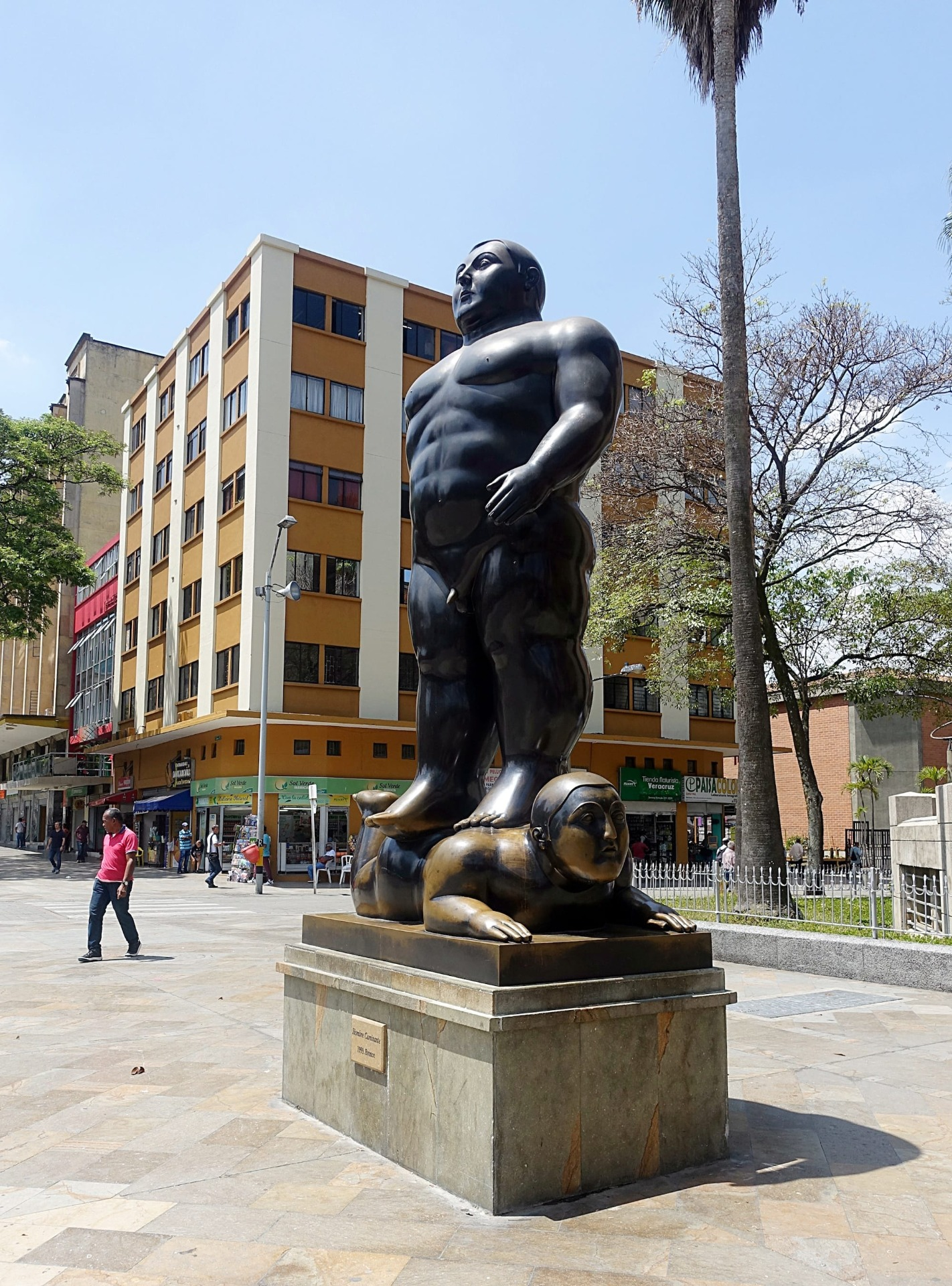 Statua a Medellín