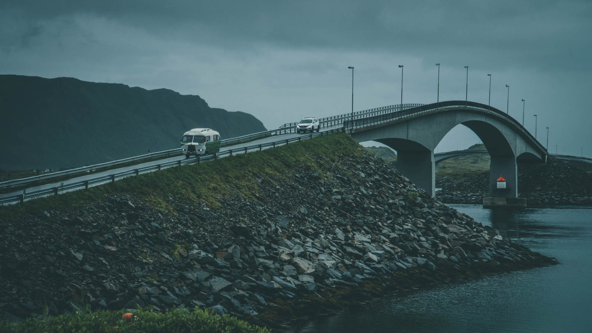 VW Bus Brücke