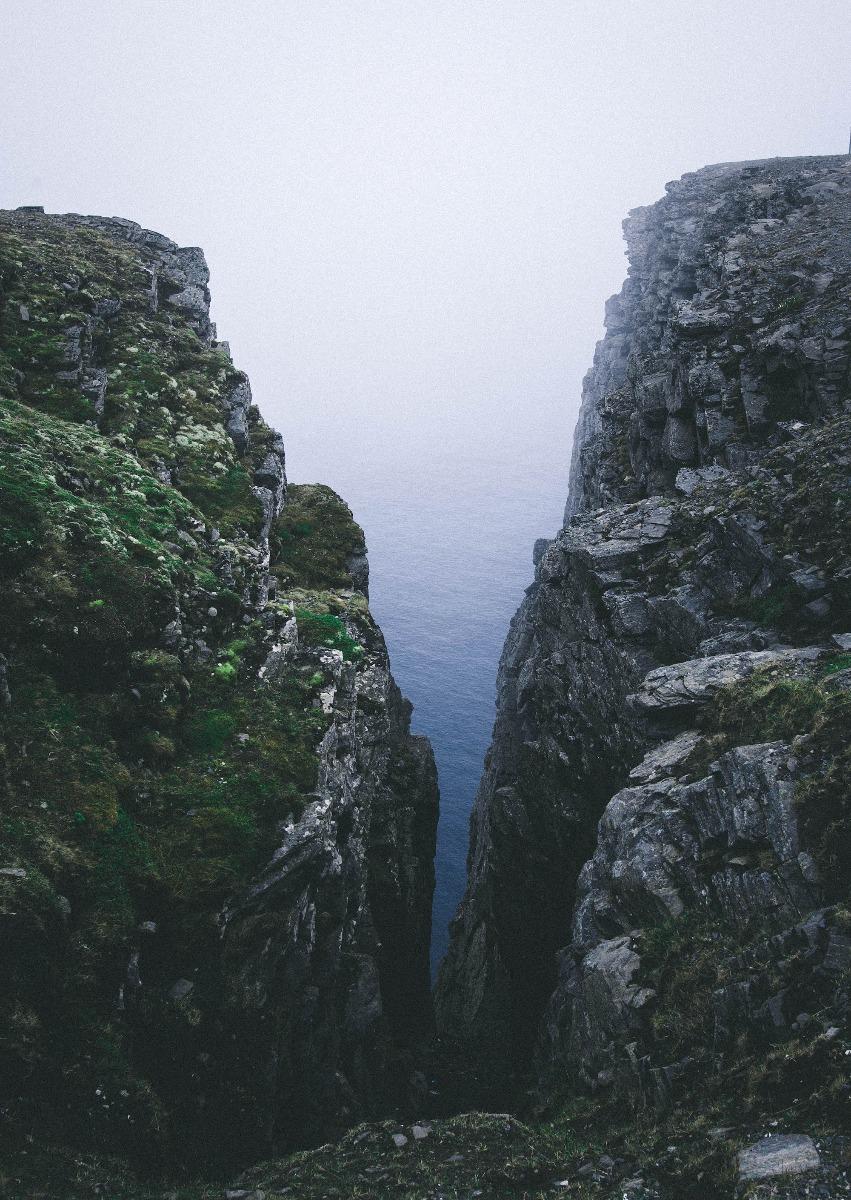 Klippen Meerenge