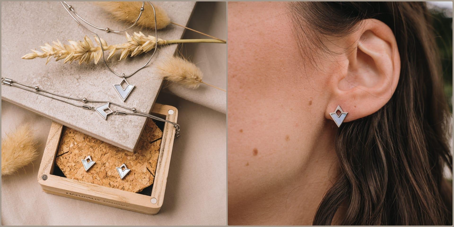 Boucles d'oreilles Conceptual