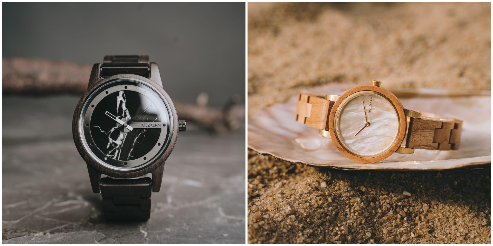 Relojes y joyas naturales