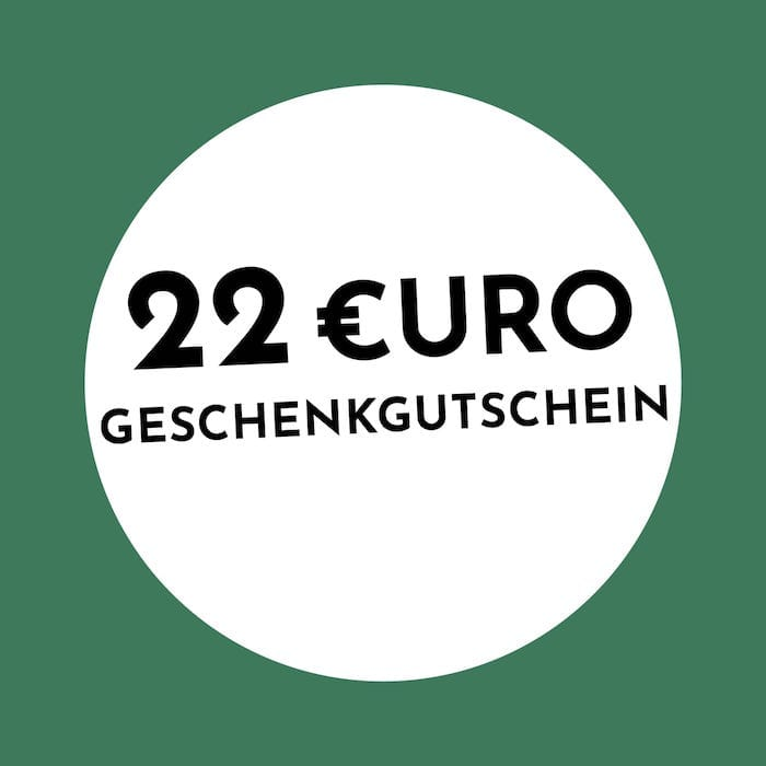 22€ Geschenkgutschein Holzkern