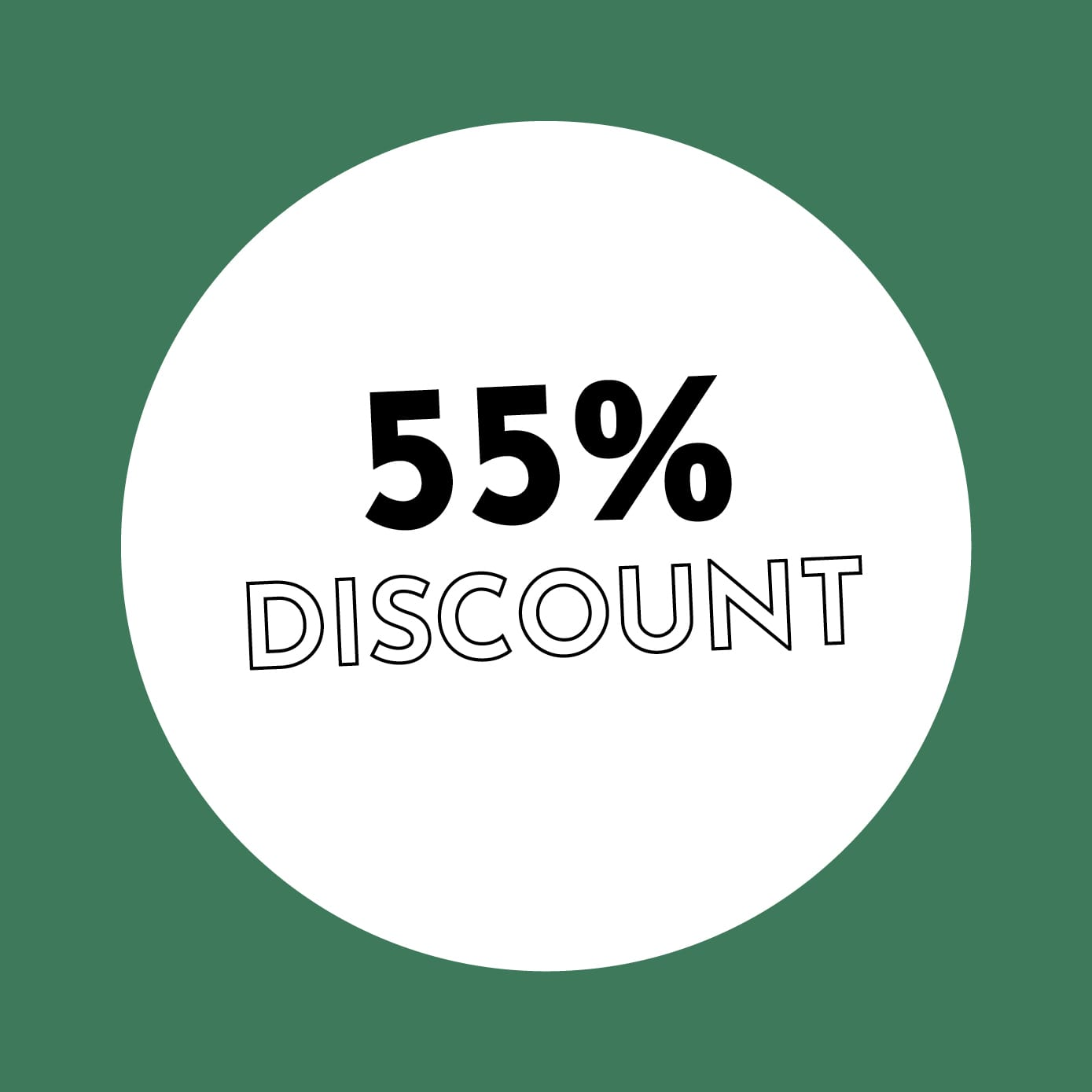 55% Discount