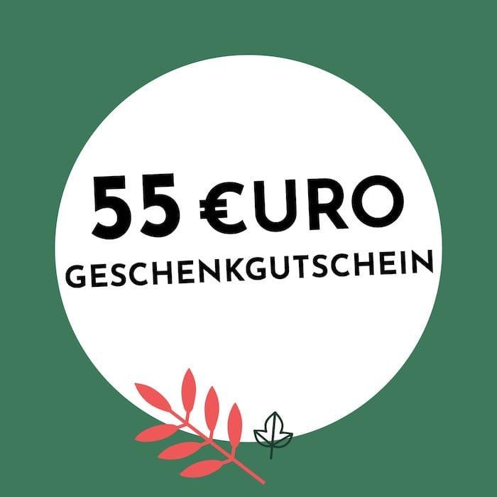 55€ Geschenkgutschein Holzkern