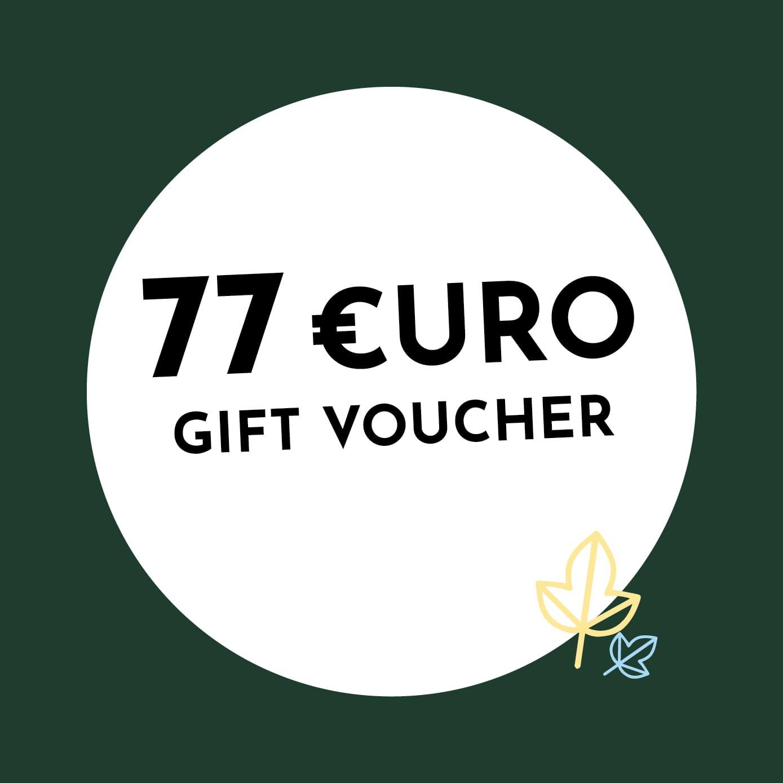 77€ Holzkern Gift Voucher