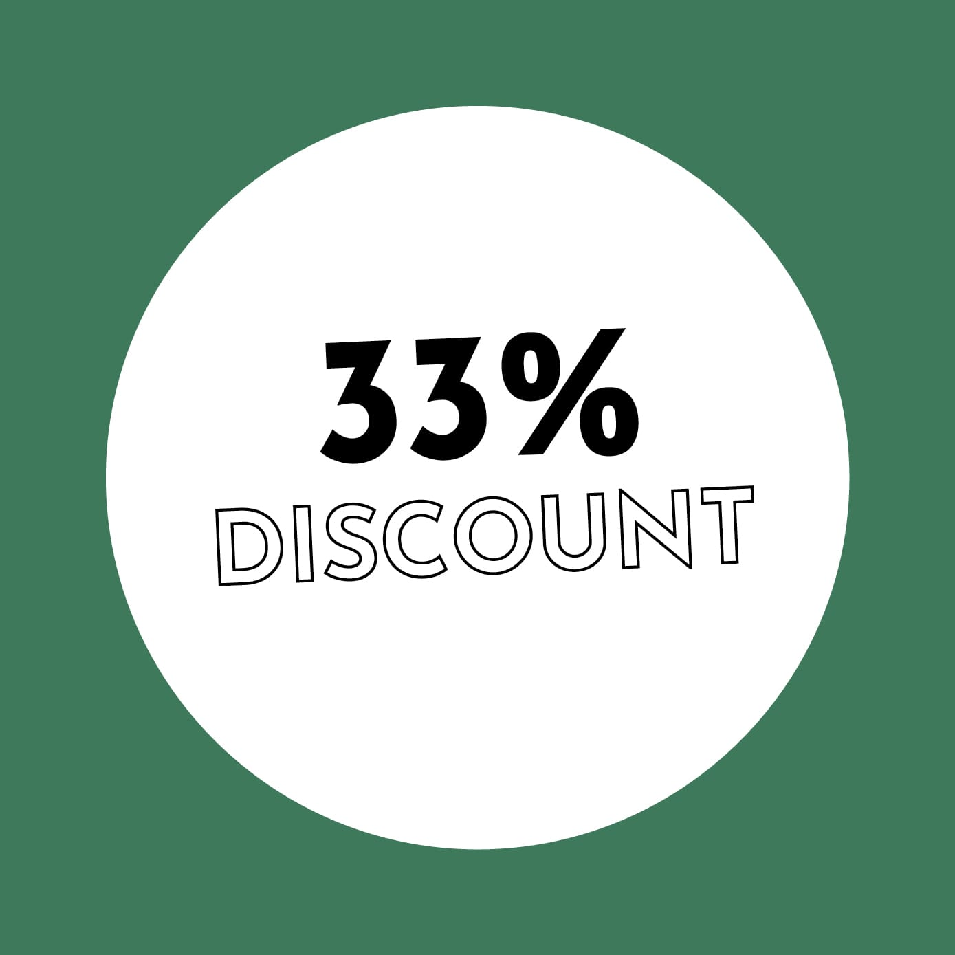 33% Discount