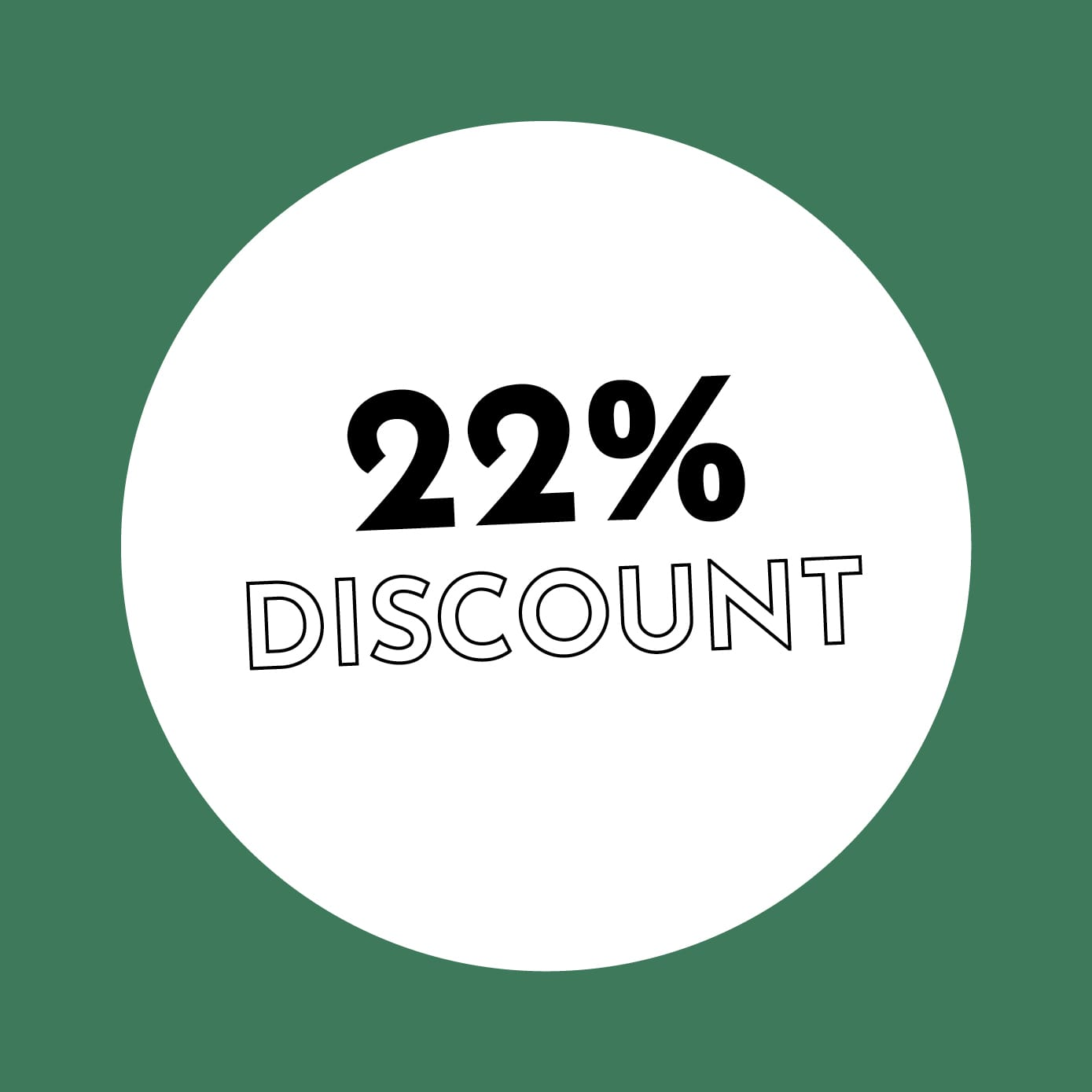 22% Discount