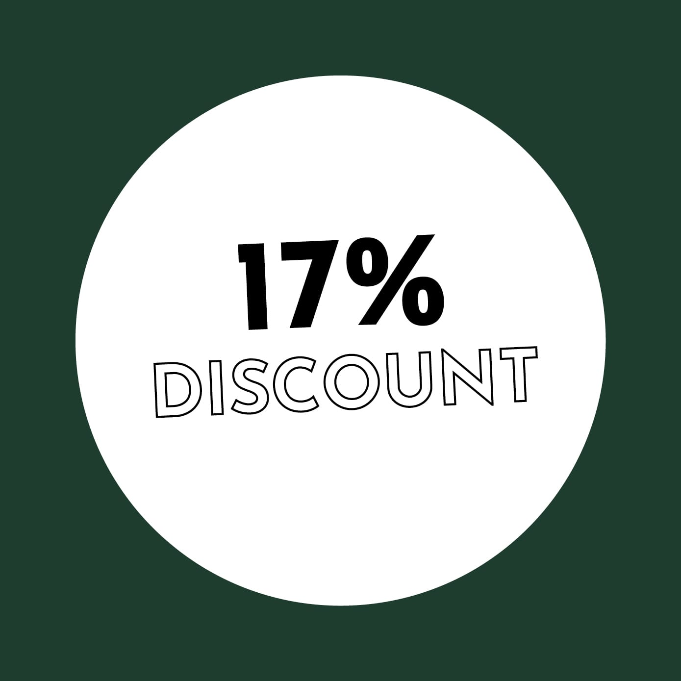 17% Discount
