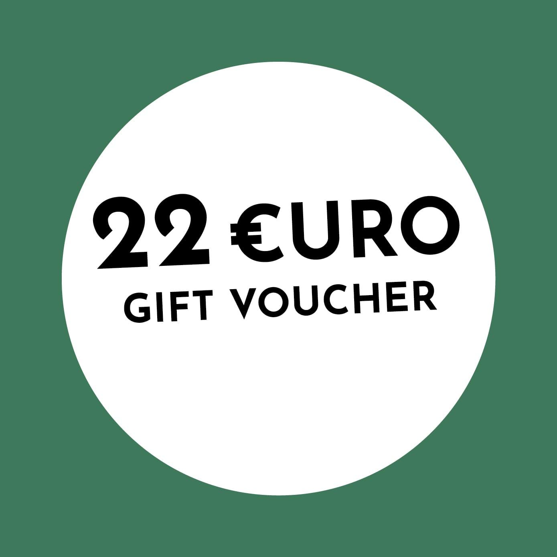 22€ Holzkern Gift Voucher