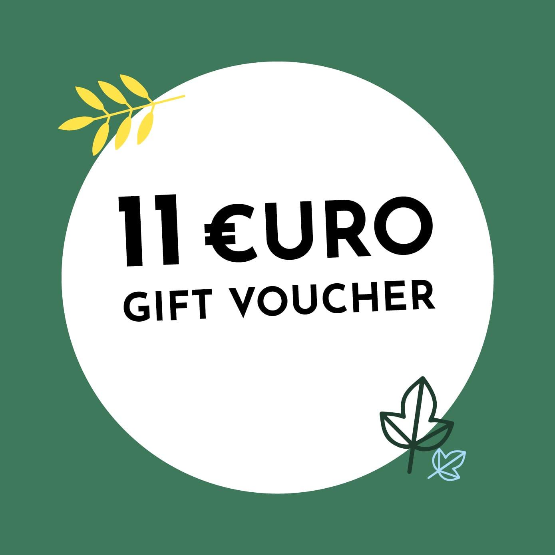 11€ Holzkern Gift Voucher