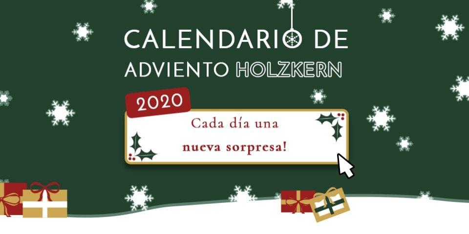 Der Holzkern Adventskalender 2020