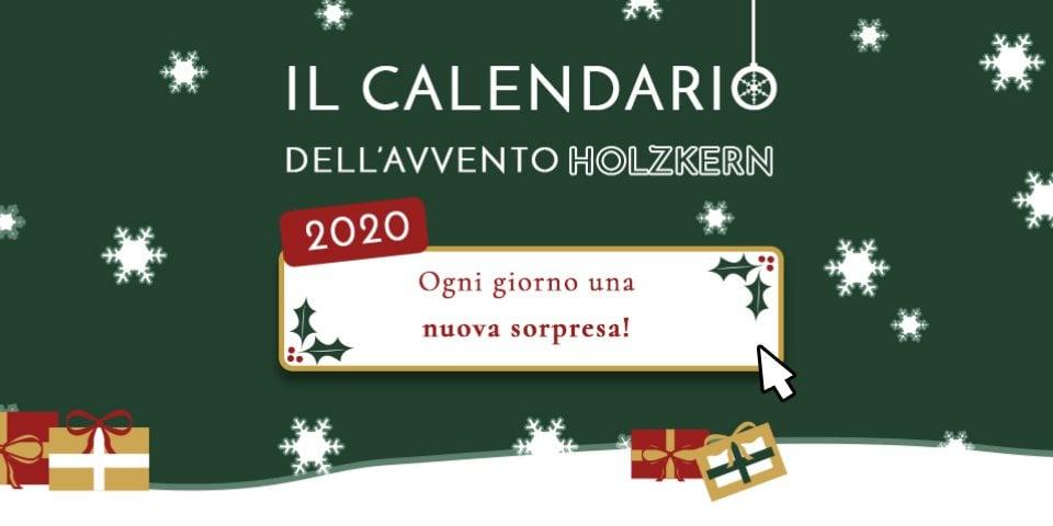 Il calendario dell'avvento Holzkern 2020