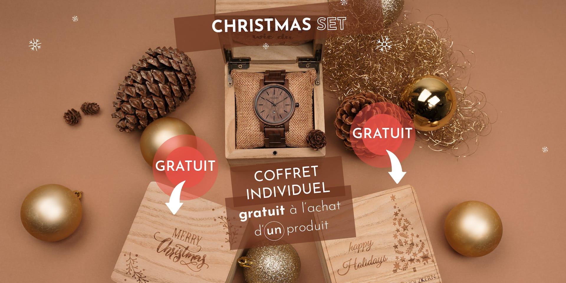 Holzkern Christmas Set