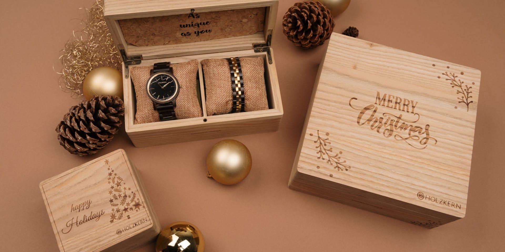 Das Holzkern Christmas Set