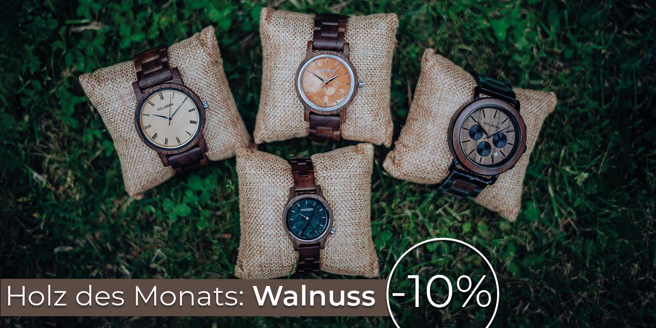 Holz des Monats: Walnuss