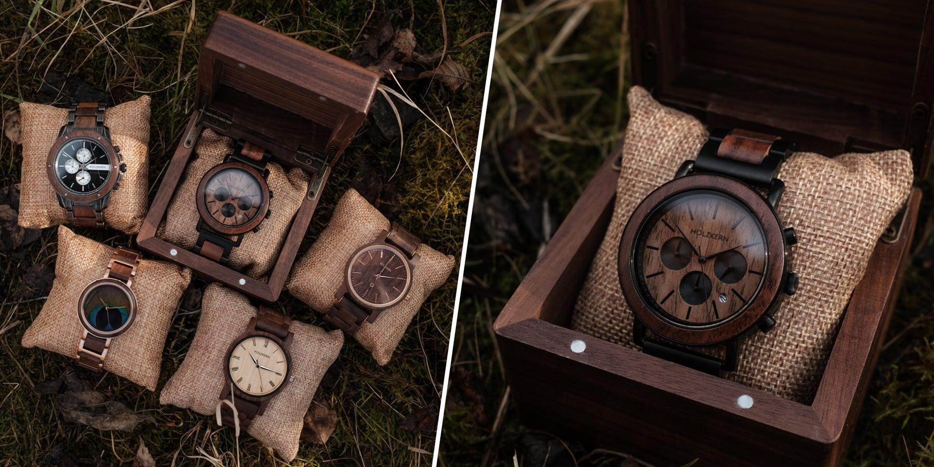 10% de réduction sur toutes nos montres en noyer