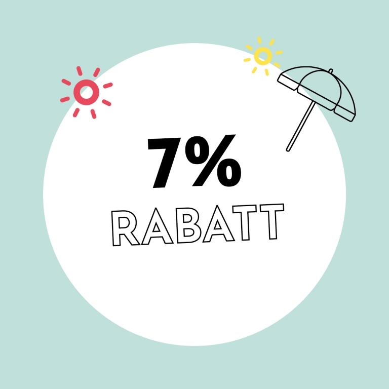 7% Rabatt bei Holzkern
