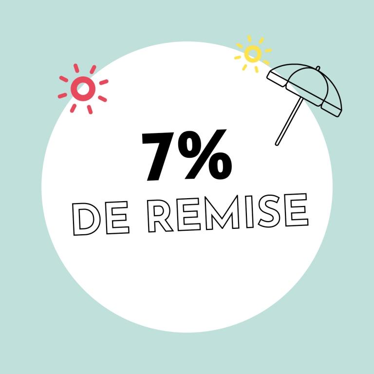 7% de réduction chez Holzkern