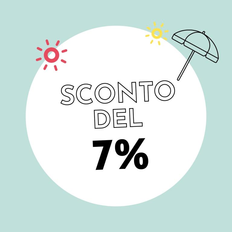 7% di sconto con Holzkern