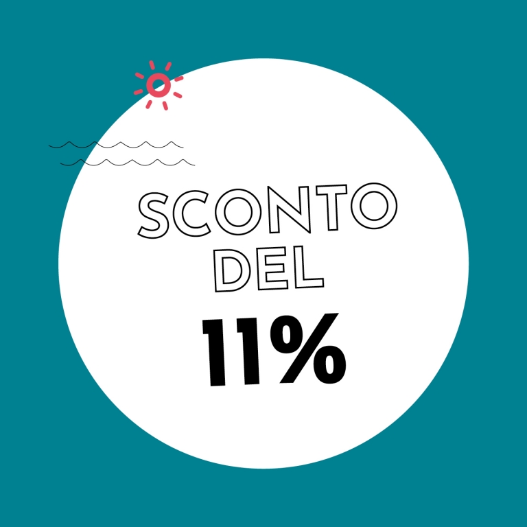11% di sconto con Holzkern