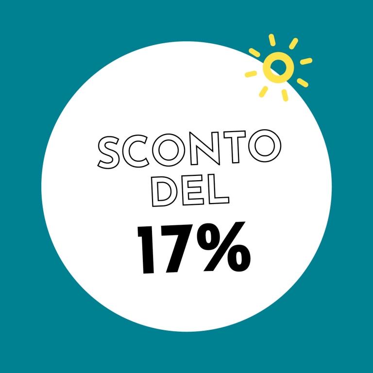 17% di sconto con Holzkern