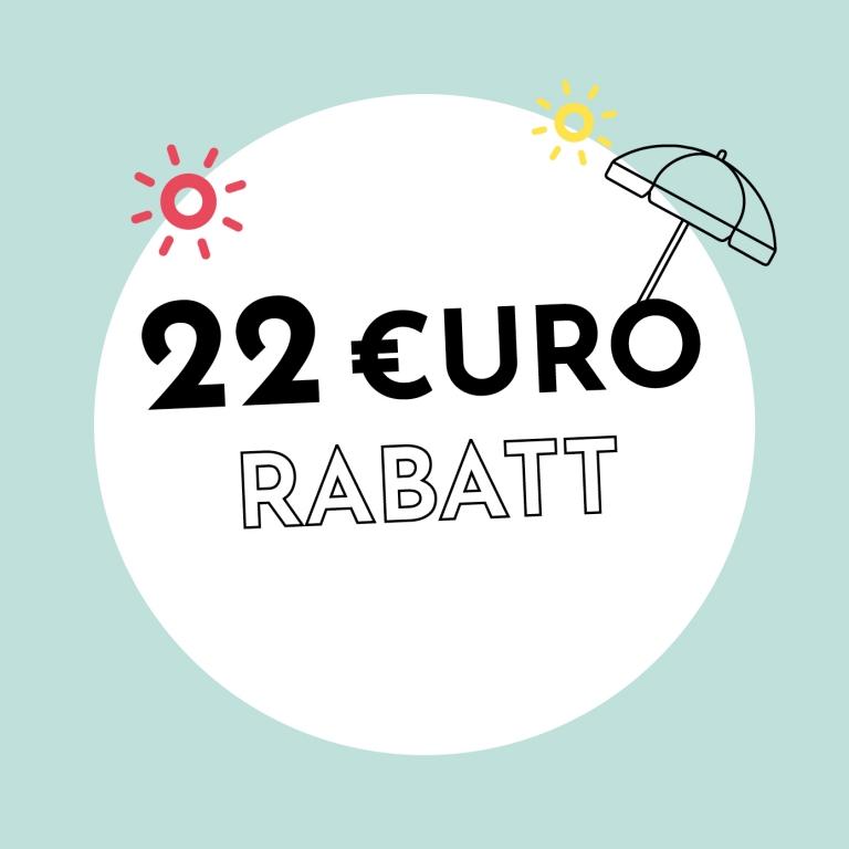 22€ Rabatt bei Holzkern