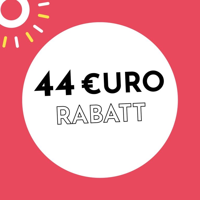 44€ Rabatt bei Holzkern