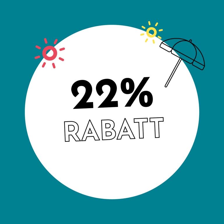 22% Rabatt bei Holzkern