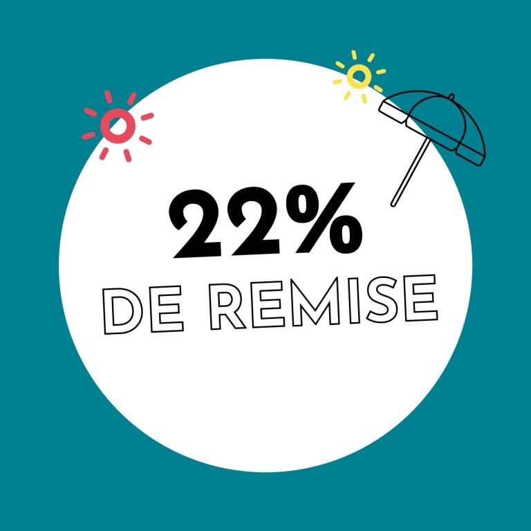 22% de réduction chez Holzkern