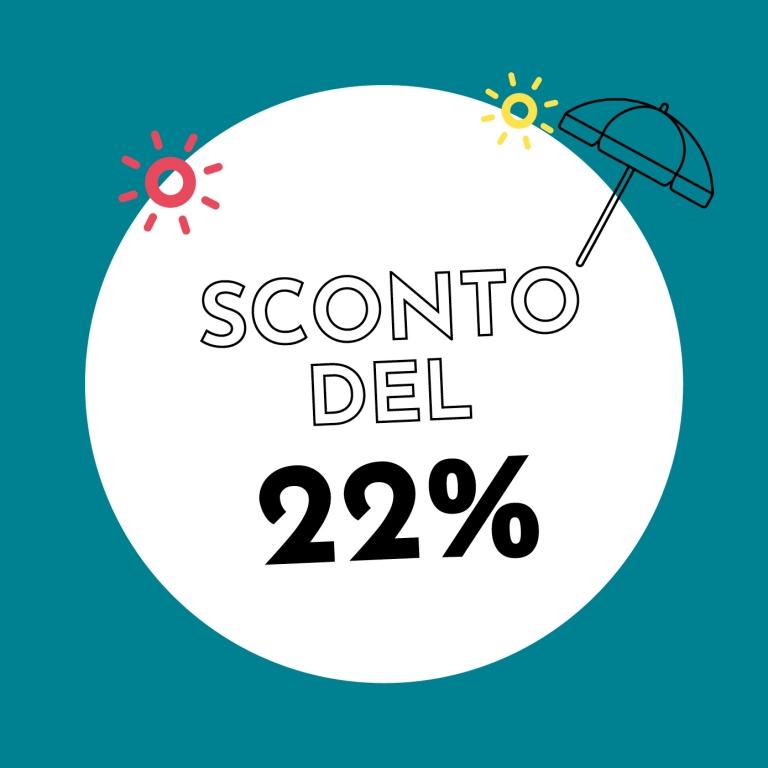 22% di sconto con Holzkern