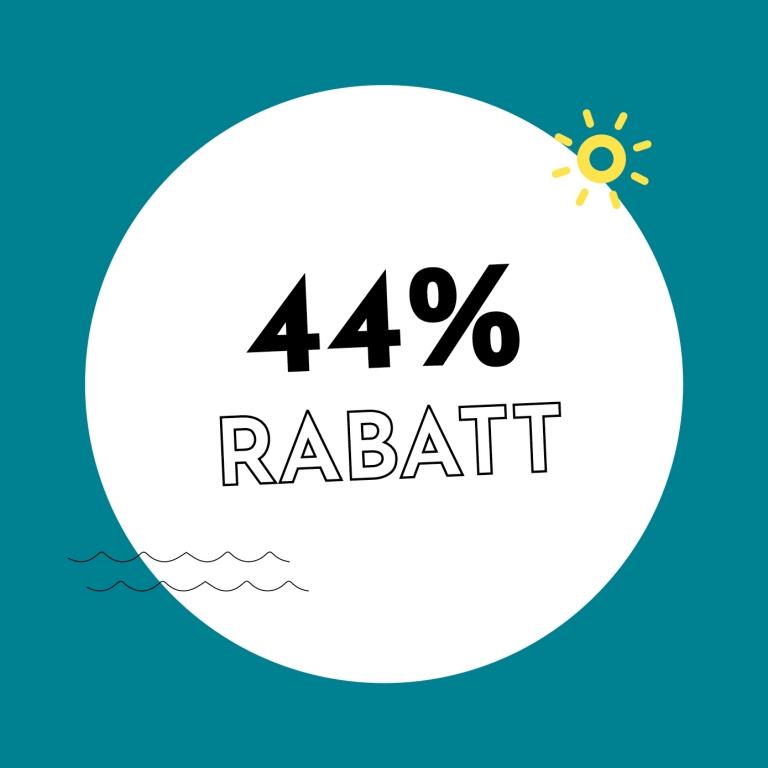 44% Rabatt bei Holzkern