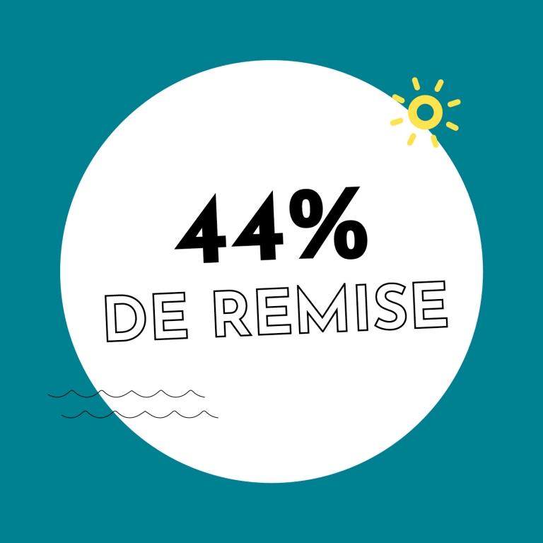 44% de réduction chez Holzkern