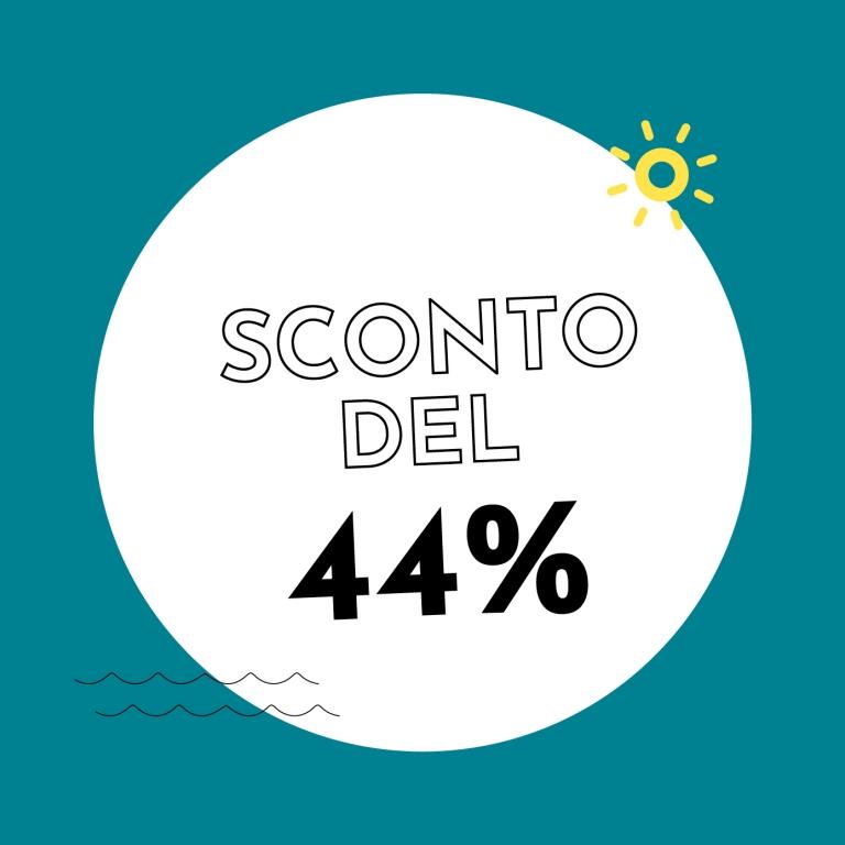 44% di sconto con Holzkern