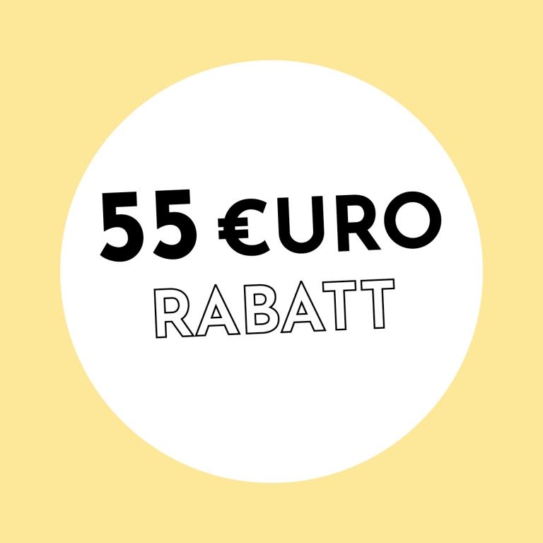 55€ Rabatt bei Holzkern