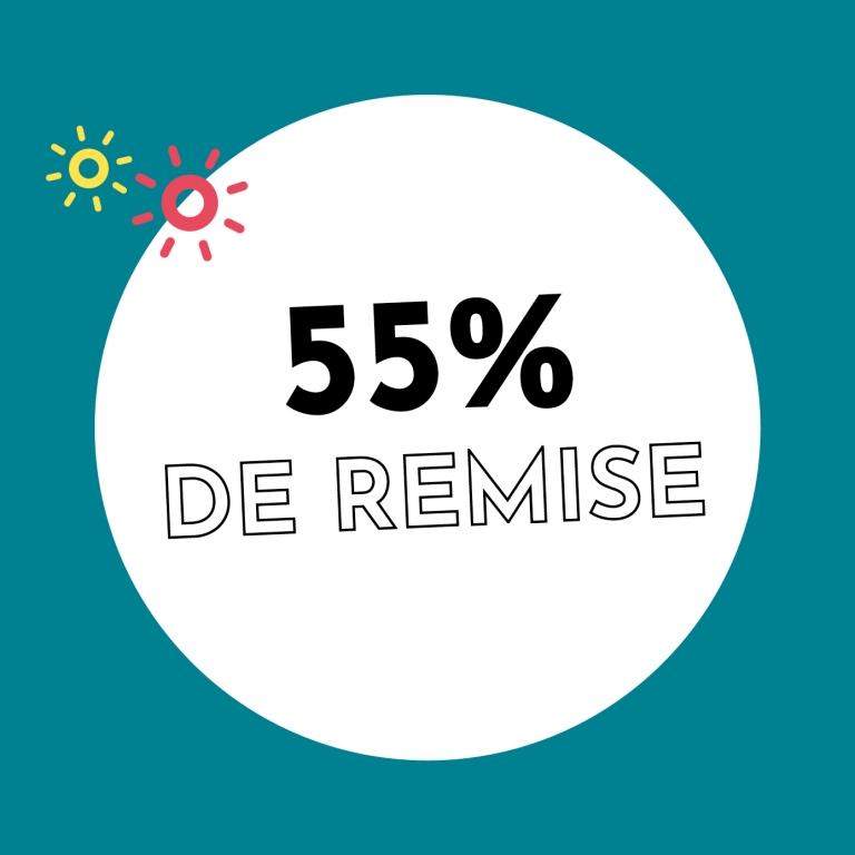 55% de réduction chez Holzkern