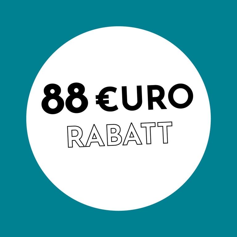 88€ Rabatt bei Holzkern