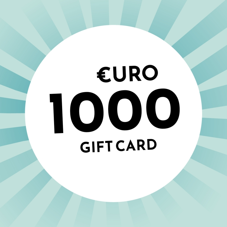 1,000€ gift card from Holzkern