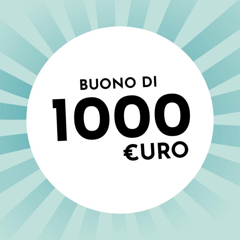 Un buono di 1.000€ da Holzkern